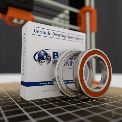 3D Model Ceramic Hybrid Series Bearings