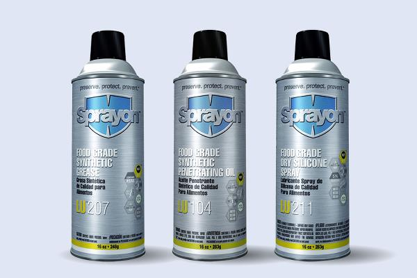SPRAYON FOOD GRADE LUBRICATION
