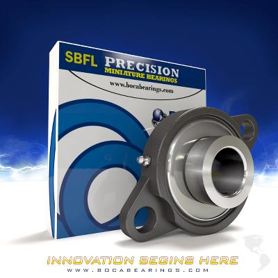 Two Bolt Flange Stainless Steel SBFL