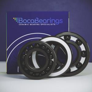 Silcon Nitride (Si3N4) Series by Boca Bearings :: Ceramic