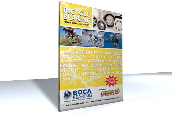 BICYCLE BEARING CATALOG