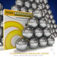 1/8IN CHROME BALL GRADE 25 (100 PCS) DIA .1248