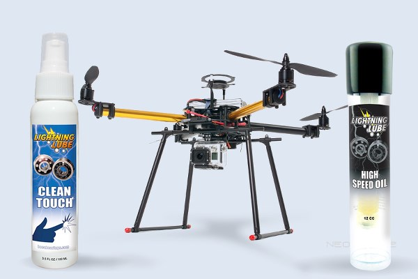 RC Helicopter LBT Lightning Lube