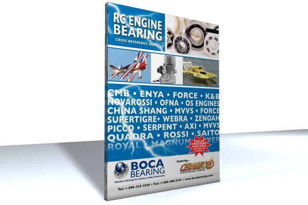 RC ENGINE BEARING CATALOG