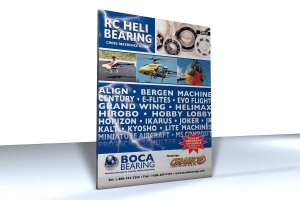 RC HELICOPTER BEARING CATALOG