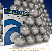 5/32 IN SS440C BALL GRADE 25 (100 PCS)
