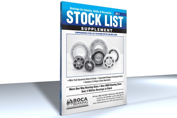 STOCK LIST SUPPLEMENT CATALOG