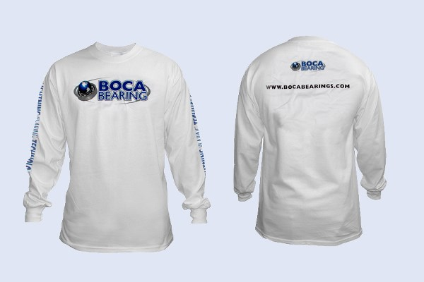 T-SHIRT WHITE LONG SLEEVE (XXL)