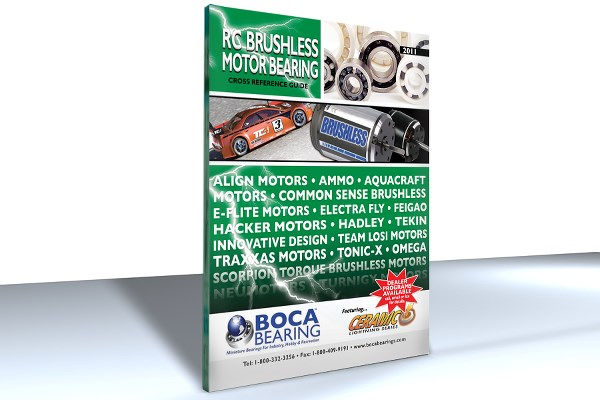 RC BRUSHLESS MOTOR BEARING CATALOG